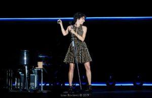 Giorgia durante il concerto di Sabato scorso, a Palermo. (foto gentilmente concessa da Giuseppe Rapisarda Management)